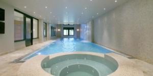 London Indoor Pool Build