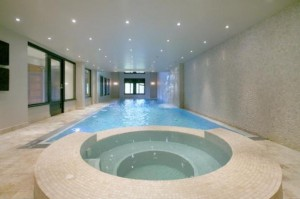 London Indoor Pool Build