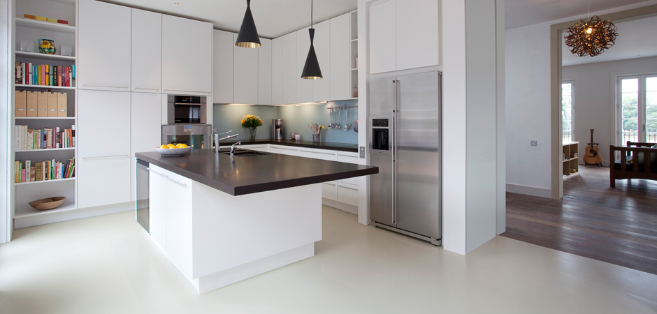 Kitchens london builders london and more for New kitchen london